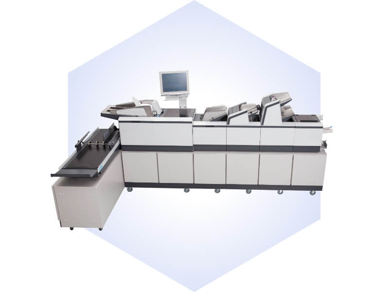 Kuvertiersystem MXi111 (MXi112 Envelope Insertion System)