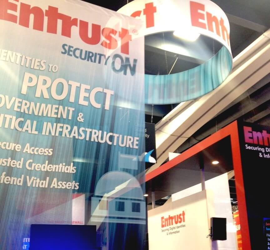 Entrust Security On Booth at RSA Conference 2013