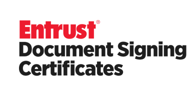 Entrust Document Signing Certificates