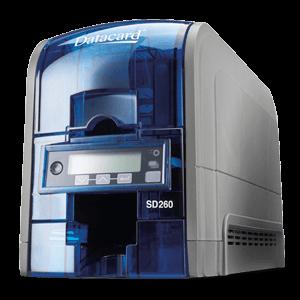 SD260 PVC ID Card Printer Support