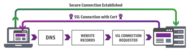 How SSL Works Chart