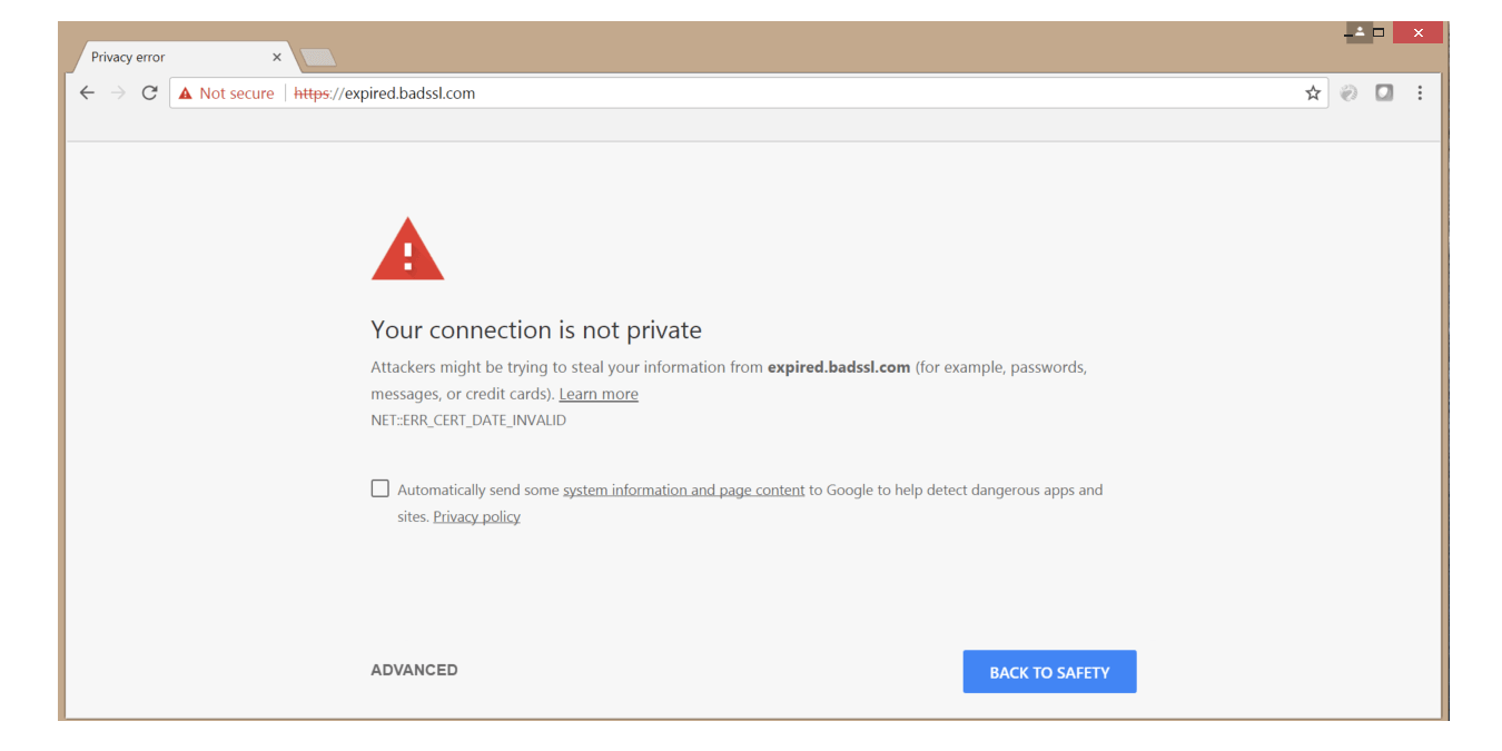 Use SSL to Avoid Browser Warnings | Entrust Datacard