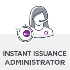 instant issuance admin icon