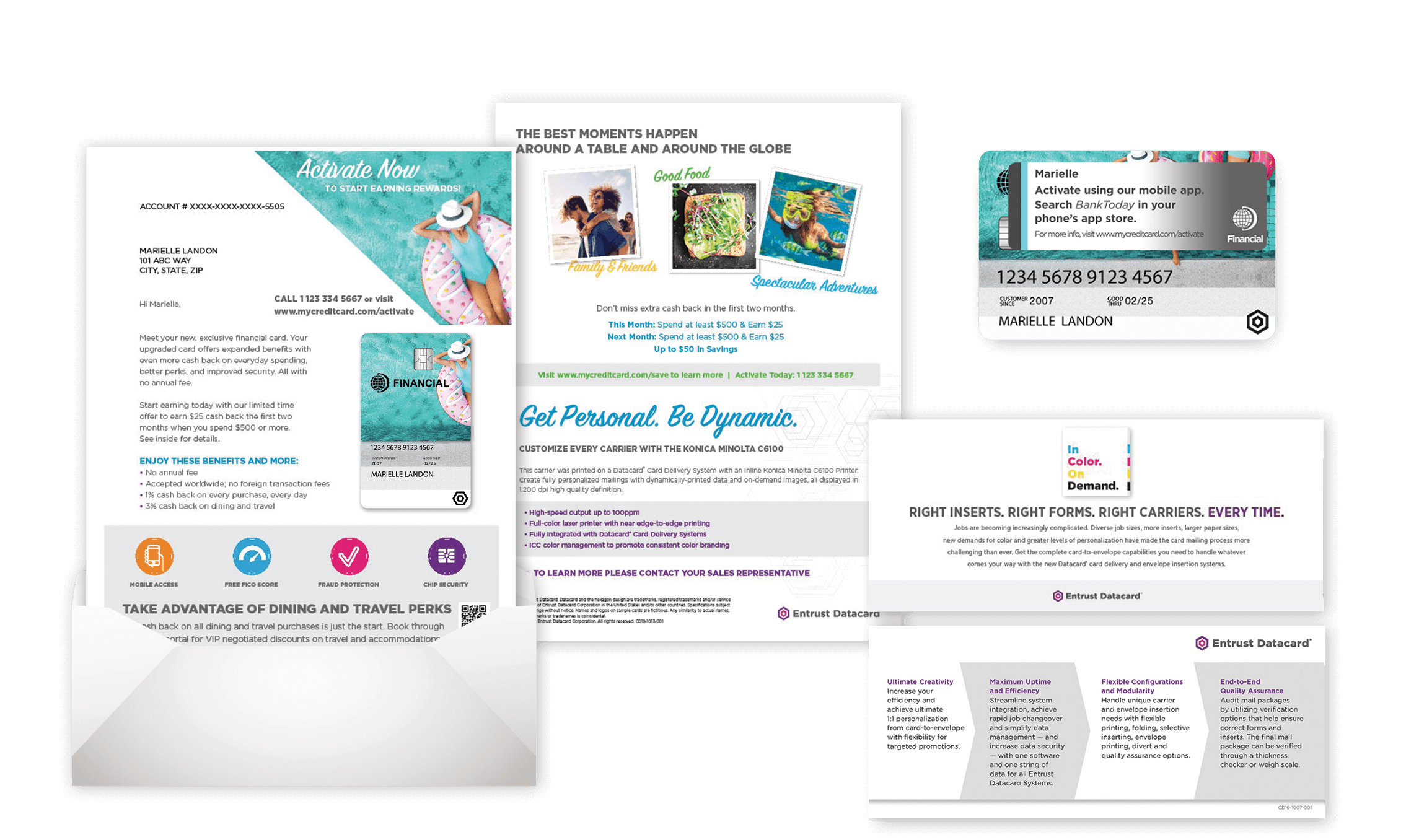 Personalized Labels and Mailers