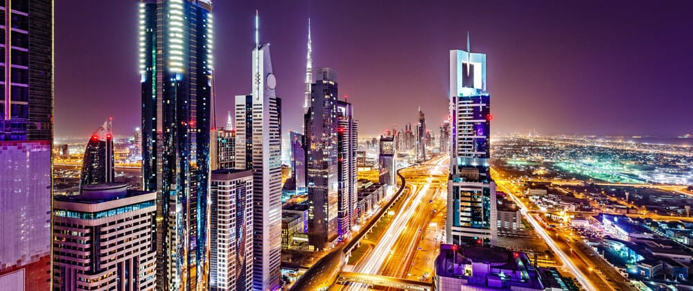 middle east cityscape