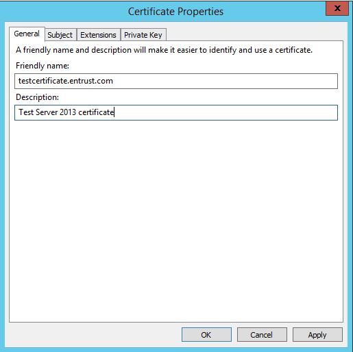 How to generate Certificate Signing Request using Microsoft