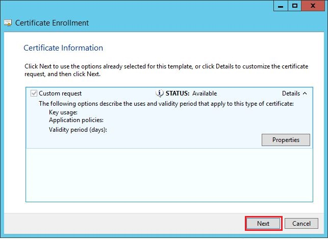 How to generate certificate signing request using microsoft 19 expand key type section by click on down arrow button on the side select exchange option on key type section click apply ok button and then next yadclub Images