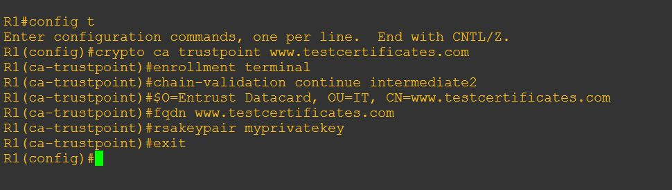 How to install SSL/TLS certificates on Cisco appliance using CLI