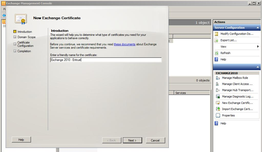 how to create csr for wildcard certificate