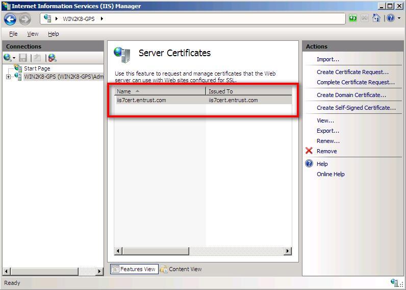 Entrust Datacard Ssltls Certificate Installation Instructions
