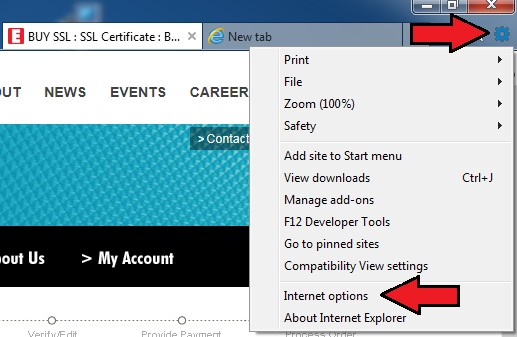 Error '1A8' when creating a personal S/MIME certificate