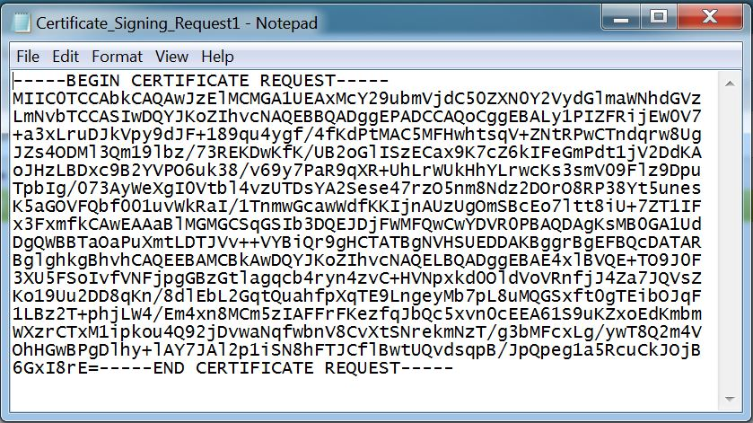 Certificate signing request csr help cisco secure acs version 5 on the certificate signing request window you should see your certificate signing request entry which you have generated a moment ago yadclub Image collections