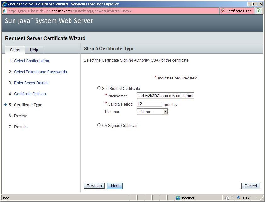 How Do I Install The Trusted Root Certificate On Sun Java System Web
